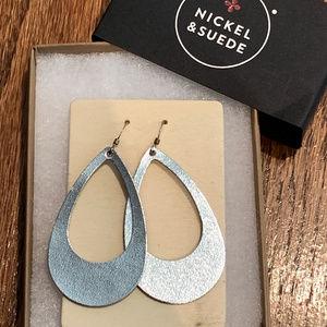 Nickel & Suede